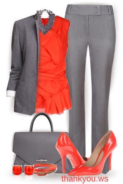 pantofi cu toc stiletto in outfit elegant