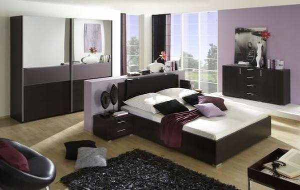 pat in mijlocul camerei care respecta regulile de fengshui