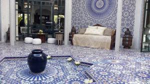 Piese din mobilier si decoratiuni in stil marocan
