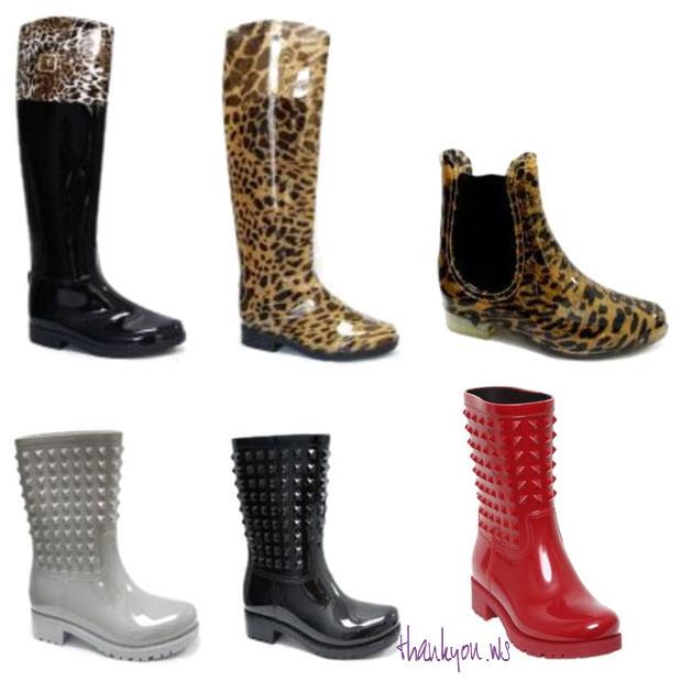 cizme de ploaie din magazinul www.standard-shoes.ro