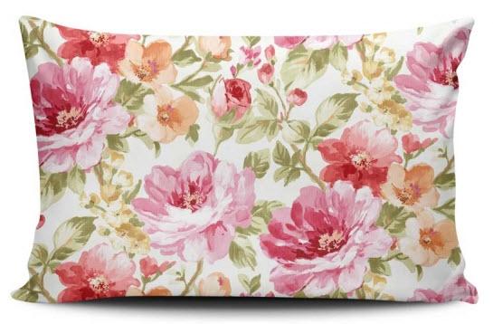 perna decorativa cu print floral