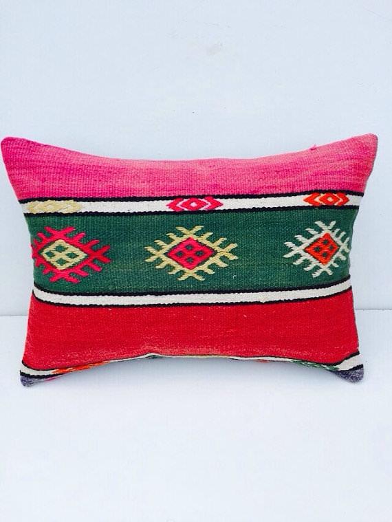 perne colorate design turcesc