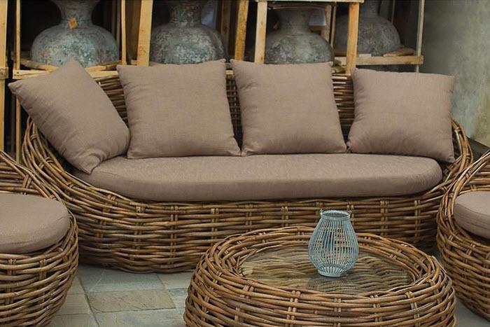 sofa din rachita