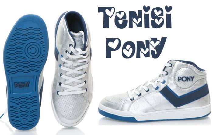 Tenisi Pony cu pret mic - pana la 73% discount