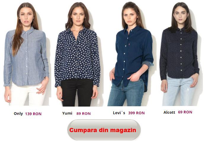 camasi cu buline pentru femei