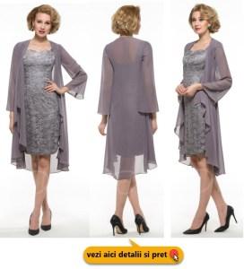 rochii scurte elegante din dantela pentru grasute
