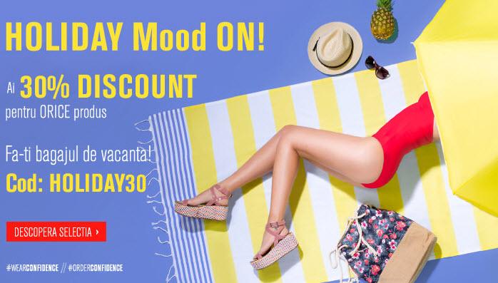 Fashion Days 30% Discount - HOLIDAY Mood ON!
