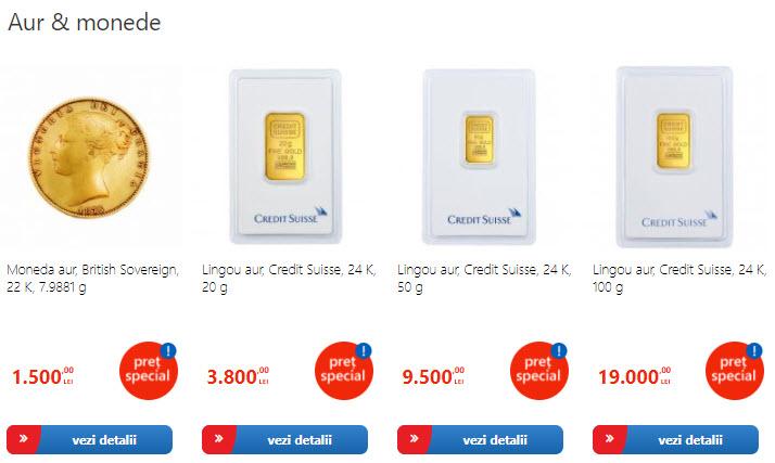crazy days emag promotie la auri si moneda