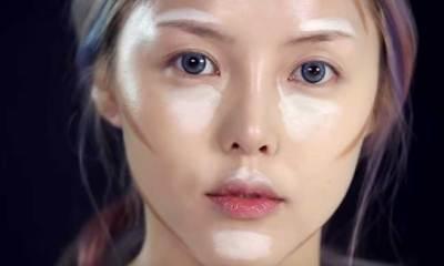 transformari cu cosmetice coreene