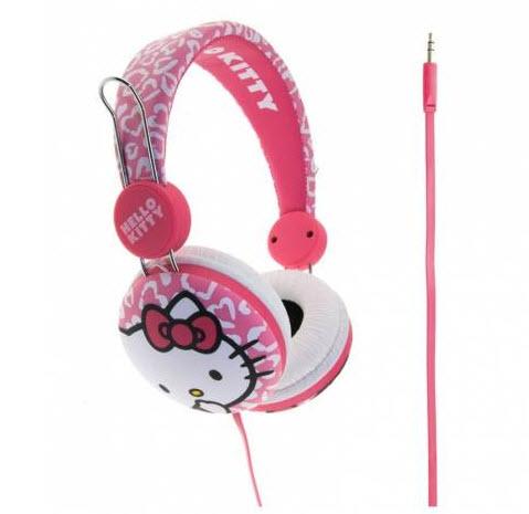 casti audio copii hello kitty