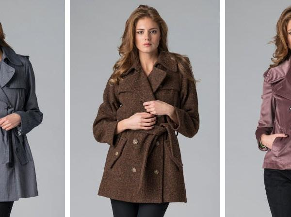 haine dama D G, trench, palton, jacheta