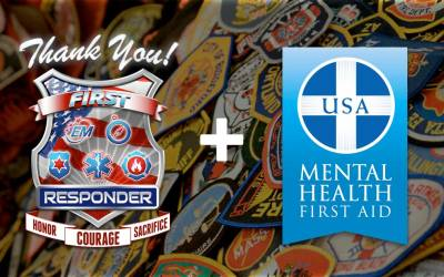 [Press Release] Thank You First Responder Launches Mental Health First Aid Program