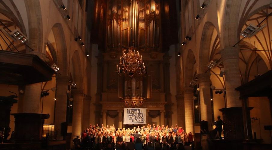 De Generale in de Grote Kerk van Alkmaar