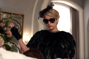 """SCREAM QUEENS: Emma Roberts in the """"Beware Of Young Girls"""" episode of SCREAM QUEENS airing Tuesday, Nov. 3 (9:00-10:00 PM ET/PT) on FOX. ©2015 Fox Broadcasting Co. Cr: Patti Perret/FOX."""