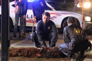 "BONES: TJ Thyne in the second part of the two-hour ""The Cowboy in the Contest/The Doom in the Boom"" fall finale episode of BONES airing Thursday, Dec. 10 (8:00-10:00 PM ET/PT) on FOX. ©2015 Fox Broadcasting Co. Cr: Jennifer Clasen/FOX"
