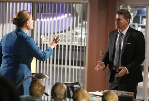 "BONES:  L-R:  Emily Deschanel and David Boreanaz in the ""The Final Chapter:  The Day In The Life"" episode of BONES airing Tuesday, March 21 (9:00-10:00 PM ET/PT) on FOX.  ©2017 Fox Broadcasting Co.  Cr:  Ray Mickshaw/FOX"
