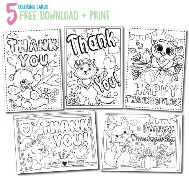 Free Printable Coloring Pages - Mindfulness Activities for Children