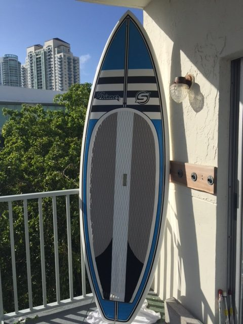 (SOLD!)$775 - SUP - The Wood Chuck Pro Designed by Randy Skinner - 8'6