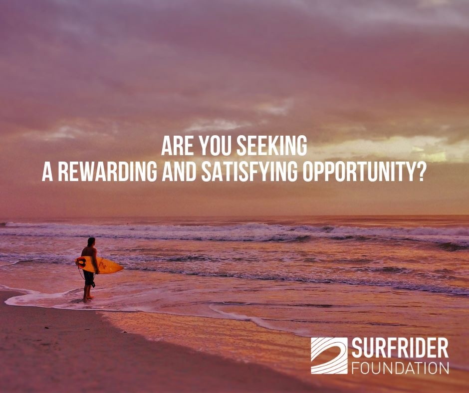 Surfrider Foundation: Seeking Volunteers and Leaders