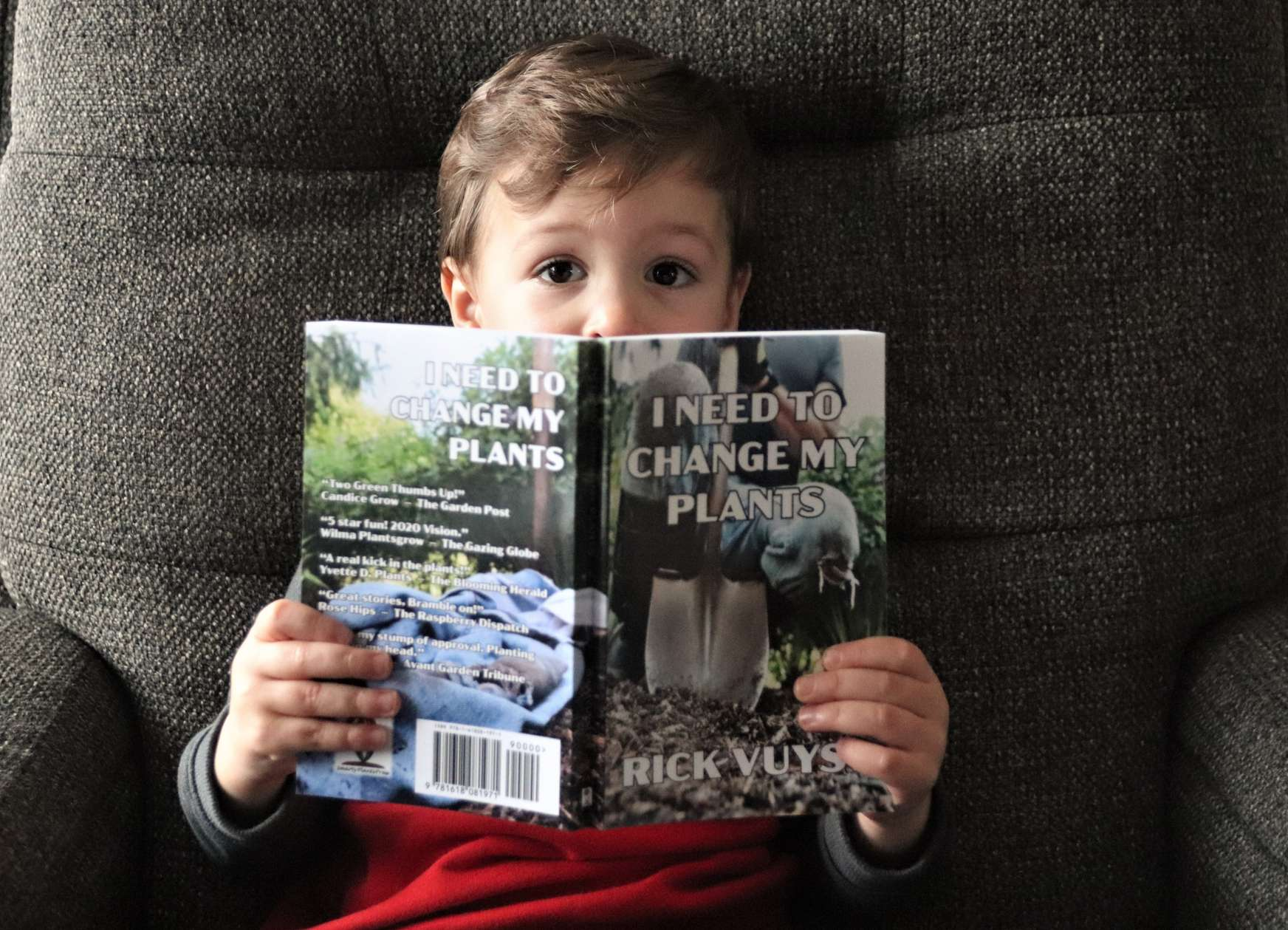 My Grandson just told me I need to change his plants.