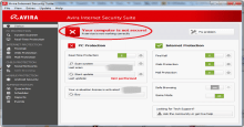 Cannot update Avira Aug 2014