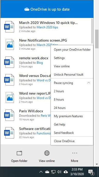 إيقاف one drive لتسريع ويندوز 10 بدون برامج خارجية