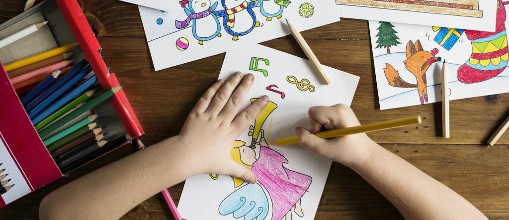 كتاب بطاقات تلوين الحروف العربية مع الرسومات PDF, وما هي فوائد التلوين للأطفال؟