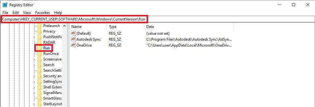 حذف فيروس الإختصارات الشورت كت من مدير السجلات Registry Editor