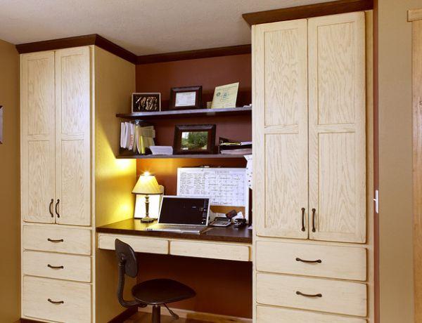 أفكار تصميم غرف المكتب في المساحات الصغيرة