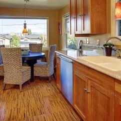Cork Floor Kitchen Faucet Spout Replacement Floors How To Clean Mat Thar