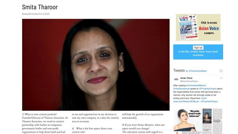 Tharoor Associates in the News