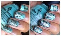 How to: Turquoise Stone Nail Art | thary xoxo