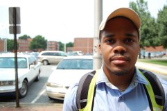 """John Paul, 19, Electrical Engineering - """"I believe it does and I have experienced. I seen it more apparent in school education. We basically we are [not] held to the same standard. Sometimes I feel like, in education, people try to give us, as Black people, a handicap because they believe we are not as intelligent as them so that's the way I see it most the times."""""""
