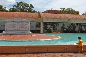 Reflecting Pool Memorial for Dr. Martin Luther King Jr. and Coretta Scott King
