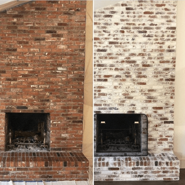 The absolute best way to paint your brick