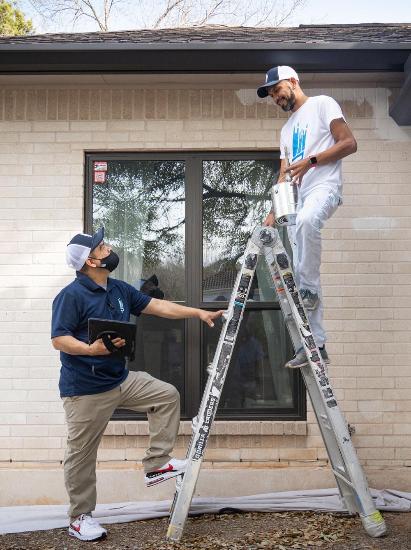 limewash brick house   That 1 Painter