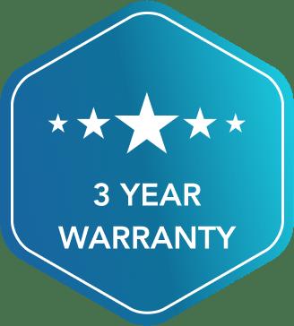 3 year warranty badge | That 1 Painter