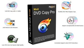 [Bản quyền miễn phí] WinX DVD Copy Pro 3.6 từ 14/1/2016 đến 18/1/2016