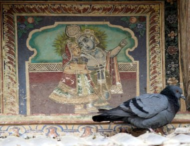 Laxmangarh, Painted Towns of Shekhawati, Fresco, Art Gallery, Painting, Heritage, Travel, Rajasthan
