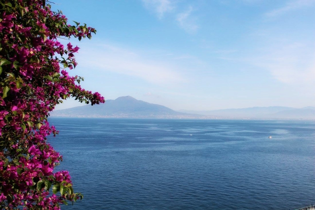 Amalfi Coast - The 5 Best Instagram Spots - Sorrento View of Vesuvius