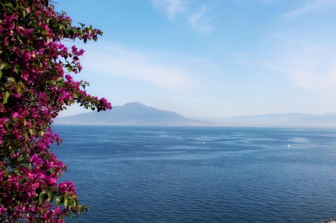 Amalfi Coast - The 5 Best Instagram Spots - Sorrento View of Vesuvius