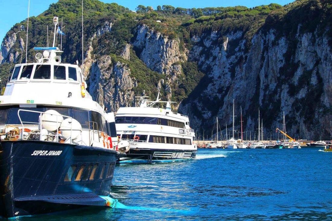 boats capri sorrento