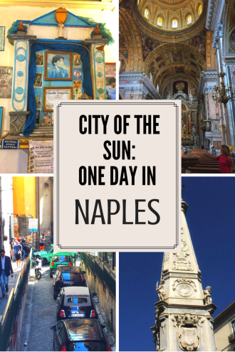What can you do in one day in Naples? Well, read on to find out! One of Italy's most authentic cities, read about my experiences with beautiful churches, walking 40 foot beneath the surface, and an encounter with a god. https://thatanxioustraveller.com #travel #italy #naples #vacation