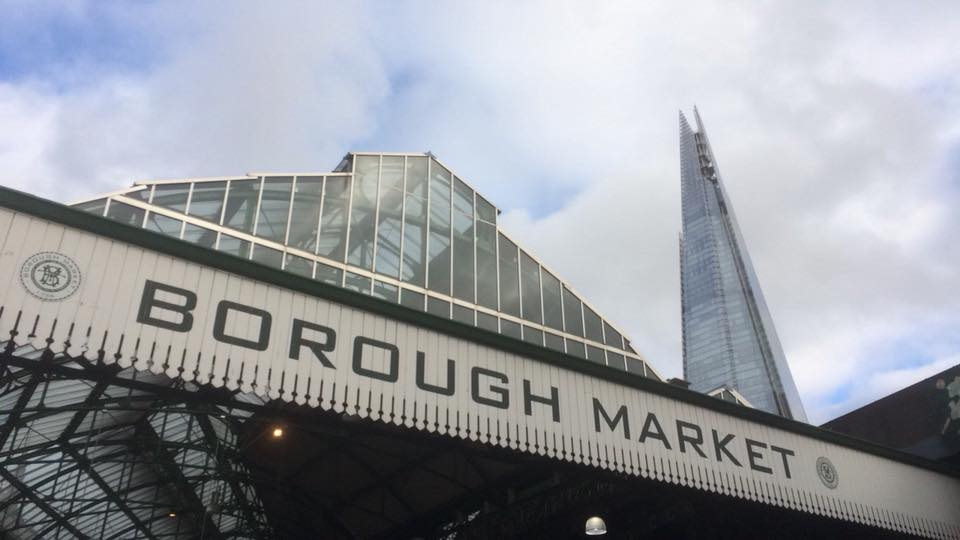 How Travel Is Helping My Anxiety - Borough Market Shard London