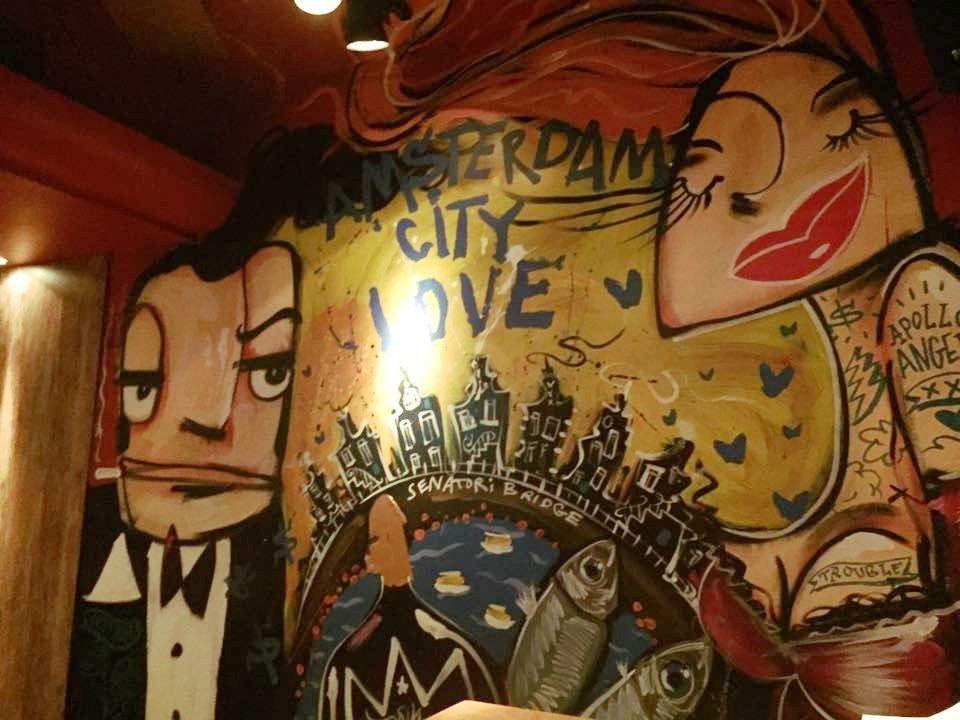 One Day In Amsterdam - Bar Art