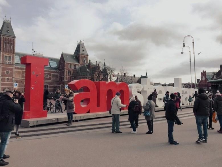 One Day In Amsterdam - Iamsterdam Sign