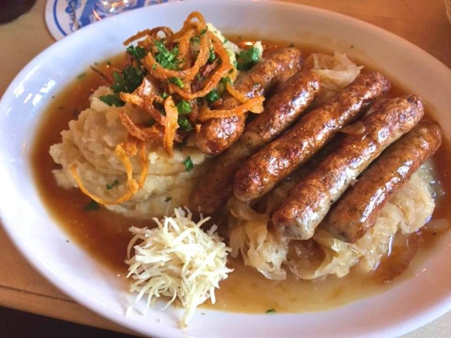 Munich sausages. Things to do in Munich in one day - even though Munich is Germany's third biggest city, it's still possible to see its absolute highlights all in one day, leaving to time to explore the rest of Bavaria! Check out our guide to seeing it all, with handy information and maps! https://thatanxioustraveller.com #europe #germany #munich #travel #oneday