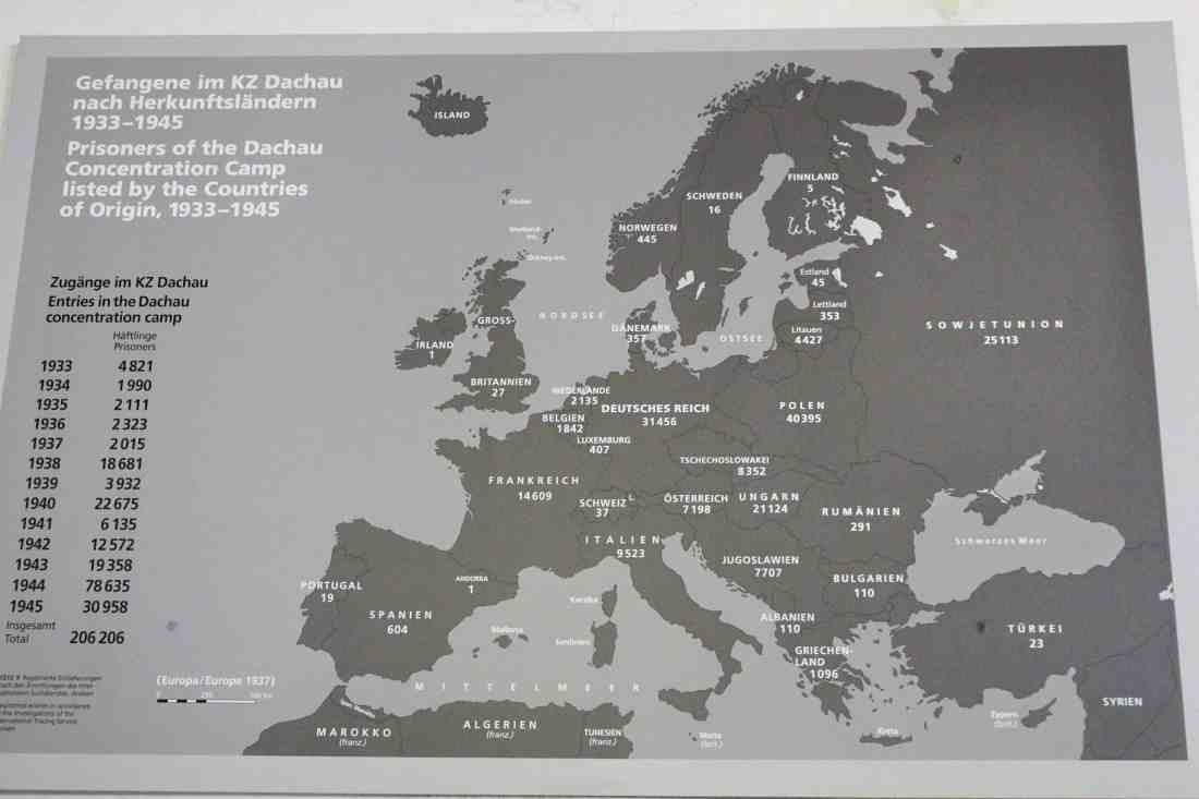 Dachau Map. Visiting Dachau Concentration Camp Memorial Site https://thatanxioustraveller.com #europe #travel #munich #dachau #history