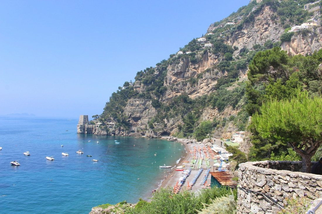 Amalfi Coast - The 5 Best Things To Do For Free - Fornillo Beach