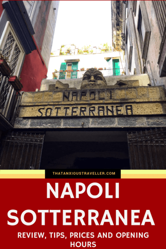 Napoli Sotterranea in Naples, Italy, allows you to get your best adventuring hat on and explore the caverns forty metres below the surface! It's definitely something you should do if you're visiting the area, but what should you expect? What are the prices and opening hours, and what are some handy tips? Find out in this review! https://thatanxioustraveller.com #italy #naples #europe #adventure #travel